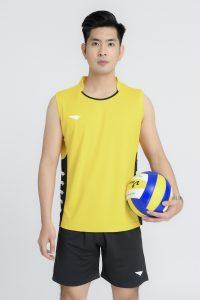 Áo bóng chuyền Hiwing Hero cao cấp chính hãng màu vàng