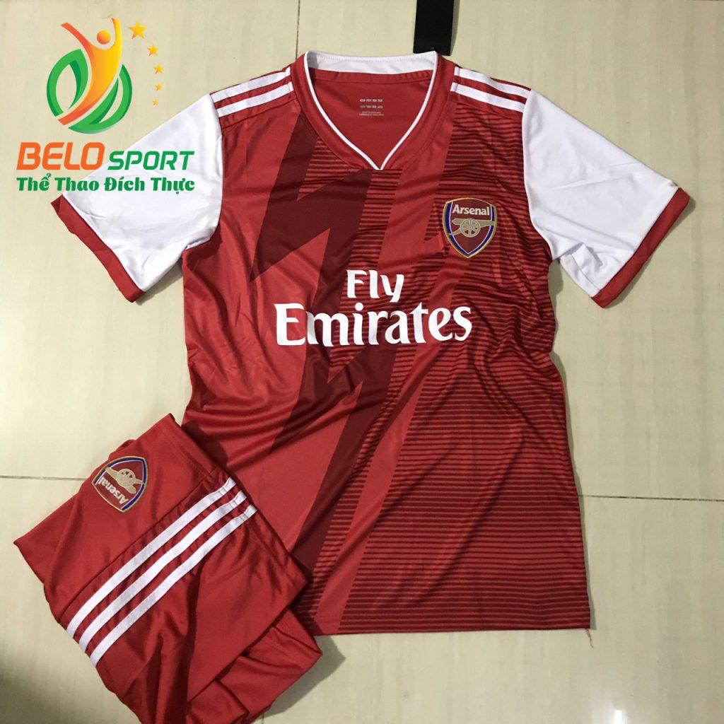 Áo Bóng đá CLB Arsenal màu đỏ thiết kế độc quyền