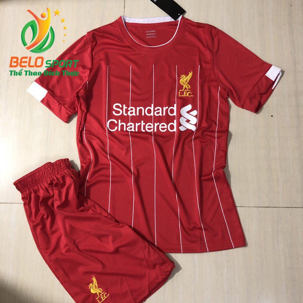 Áo bóng đá CLB leverpool  2019-2020 màu đỏ