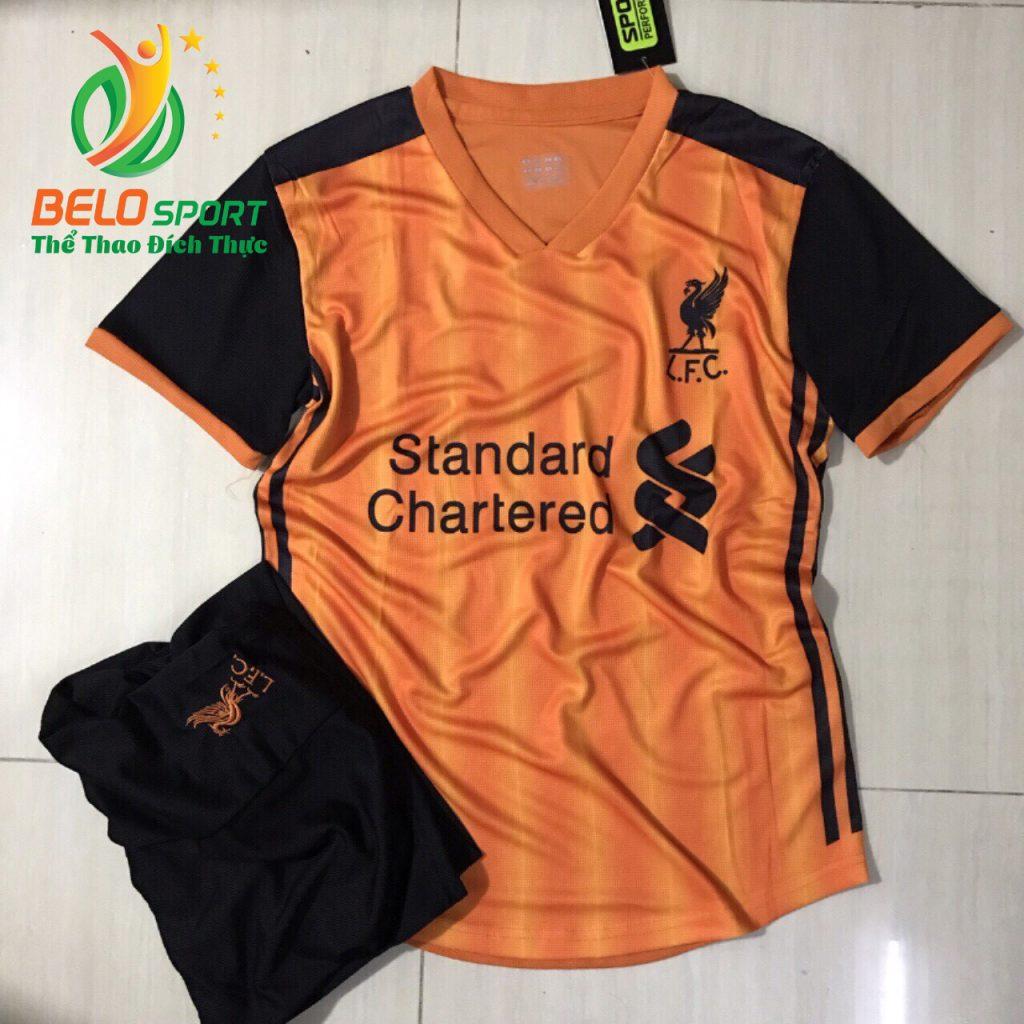 Áo bóng đá CLB leverpool  2019-2020 màu cam