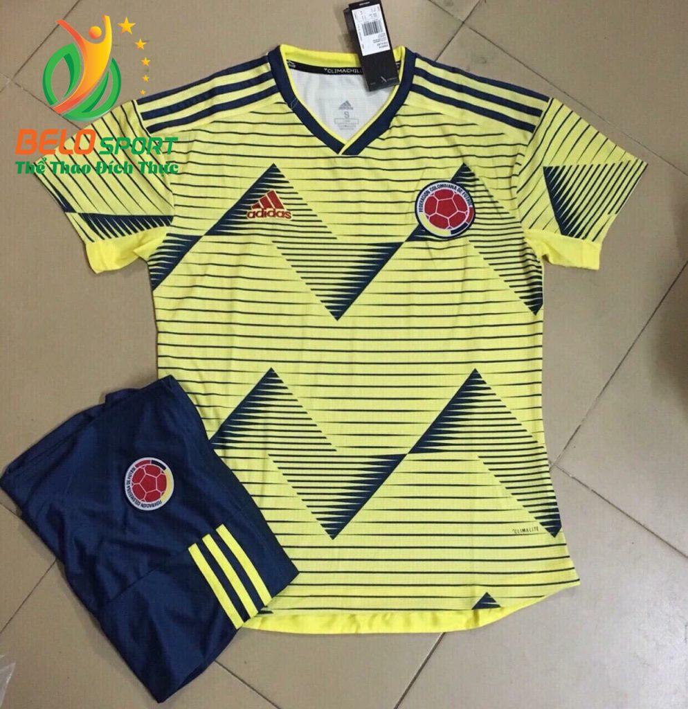 Áo bóng đá đội tuyển Colombia 2019-2020 màu vàng