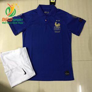 Áo bóng đá đội tuyển Pháp 2019-2020 màu xanh dương