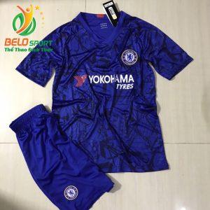 Áo bóng đá CLB cheseal 2019-2020 màu xanh dương