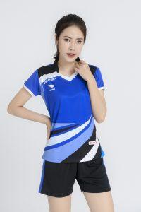 Áo bóng chuyền nữ Hiwing chính hãng mã H2 màu xanh bích