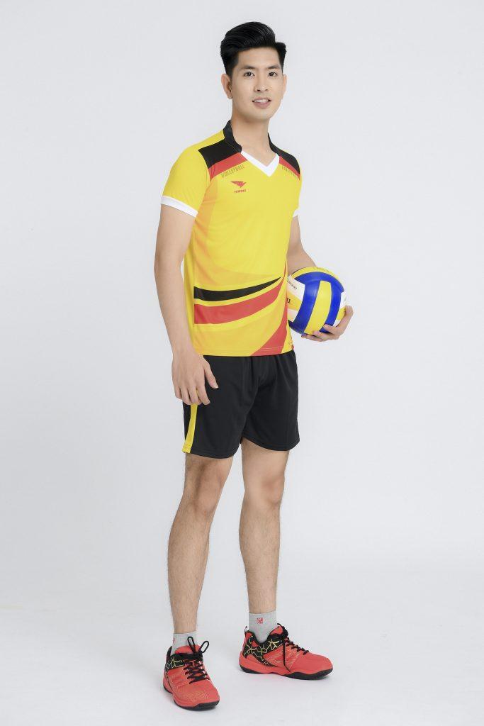 Áo bóng chuyền nam Hiwing chính hãng mã H2 màu vàng