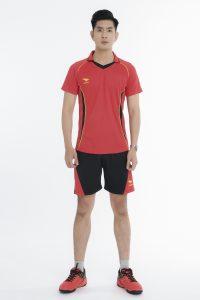 Áo bóng chuyền chính hãng Hiwing mã H1 của nam màu đỏ