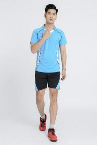Áo bóng chuyền chính hãng Hiwing mã H1 của nam xanh da