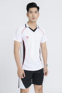 Áo bóng chuyền chính hãng Hiwing mã H1 của nam màu trắng