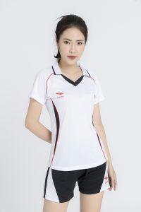 Áo bóng chuyền nữ Hiwing H1 chính hãng màu trắng