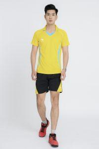 Áo bóng chuyền chính hãng Hiwing mã H1 của nam màu vàng
