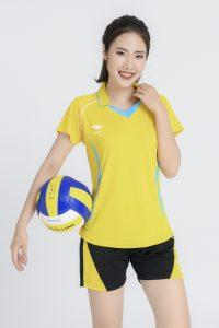 Áo bóng chuyền nữ Hiwing H1 chính hãng màu vàng