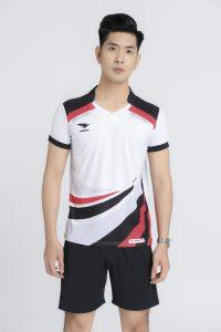 Áo bóng chuyền nam Hiwing chính hãng mã H2 màu trắng
