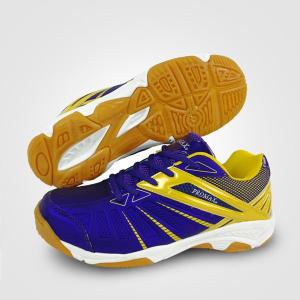 Giày bóng chuyền Promax 19001-2019 chính hãng màu tím vàng