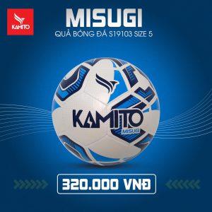 Quả bóng đá Kamito Misugi chính hãng 2019 size 5