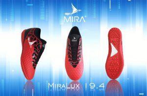 Giày bóng đá Mira Lux chính hãng màu đỏ