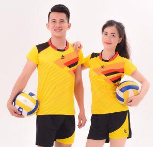 Áo bóng chuyền chính hãng KELME 2 Nam / Nữ – màu vàng