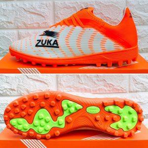 Giày bóng đá ZUKA phượng hoành chính hãng màu cam-trắng