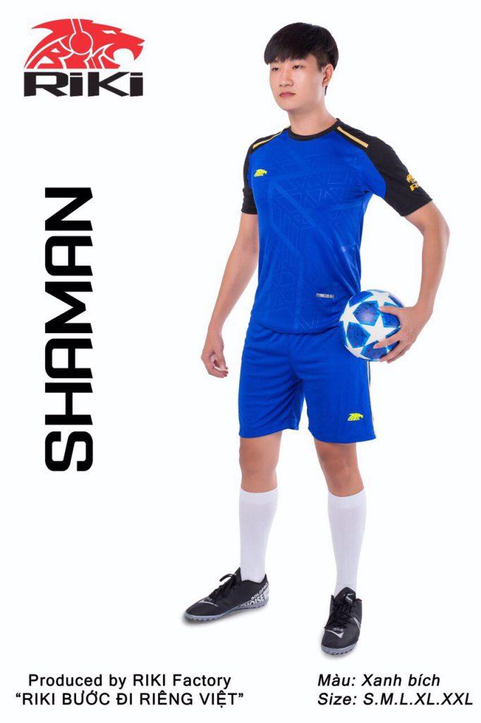 Áo bóng đá RIKI màu xanh biển độc quyền phân phối Belo Sport