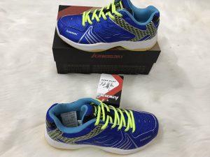 Giày bóng chuyền, cầu lông Kawasaki K071 màu xanh biển chính hãng