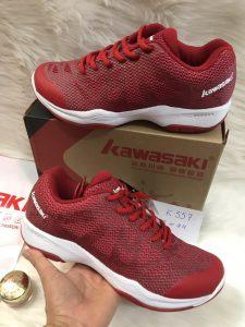 Giày bóng chuyền, cầu lông Kawasaki K357 chính hãng màu đỏ