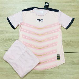 Áo bóng đá không logo T90 AKG màu hồng độc quyền Belo Sport