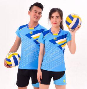 Áo bóng chuyền chính hãng KELME 2-Nam/ Nữ – Màu xanh ngọc