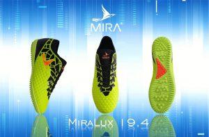 Giày bóng đá Mira Lux chính hãng màu xanh lá