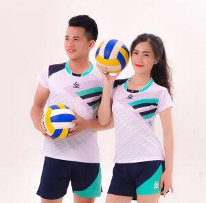 Áo bóng chuyền chính hãng KELME 2 – Nam / Nữ – Màu trắng
