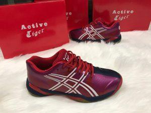 Giày bóng chuyền ASICS chính hãng -màu đỏ pha đen