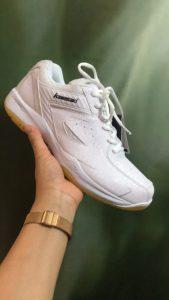 Giày bóng chuyền, cầu lông Kawasaki K076 chính hãng màu trắng