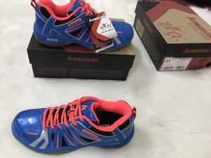 Giày bóng chuyền, cầu lông Kawasaki K152 chính hãng màu xanh