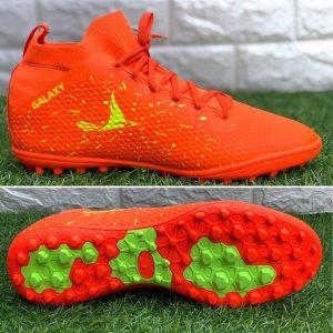 Giày bóng đá Mira Galaxy chính hãng màu da cam