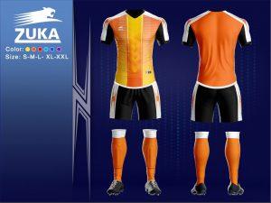 Áo bóng đá chính hãng zuka 2 màu cam độc quyền phân phối Belo