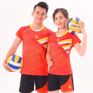 Áo bóng chuyền chính hãng kelme 2 – Nam / Nữ – màu đỏ