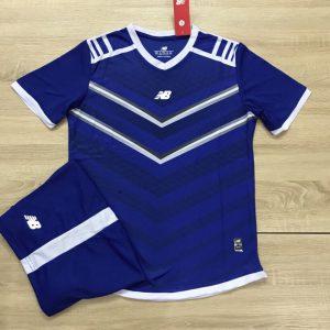 Áo bóng đá không logo NB màu xanh ngọc độc quyền Belo Sport