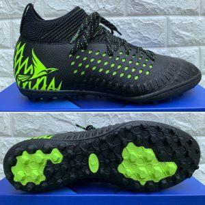 Giày bóng đá Mira Lux 19.2 chính hãng màu đen xanh