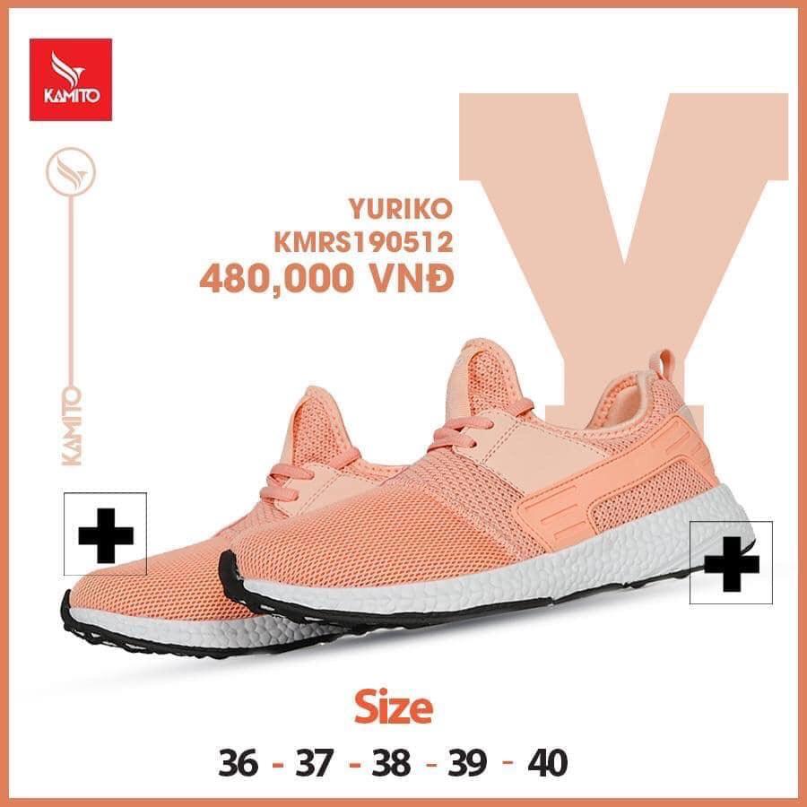 Giày chạy bộ Kamito Yuriko KMRS 190512 chính hãng màu hồng