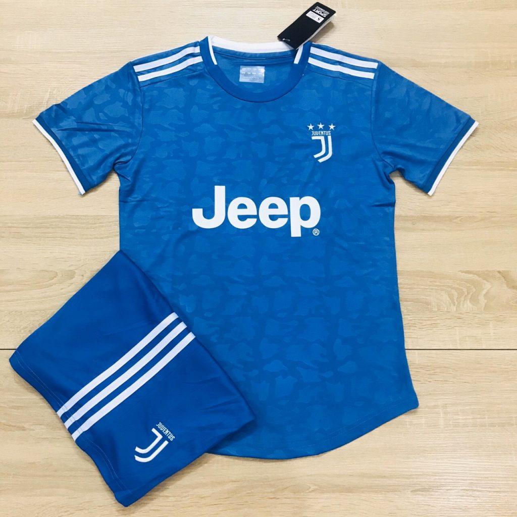 Áo bóng đá CLB Juventus màu xanh dương