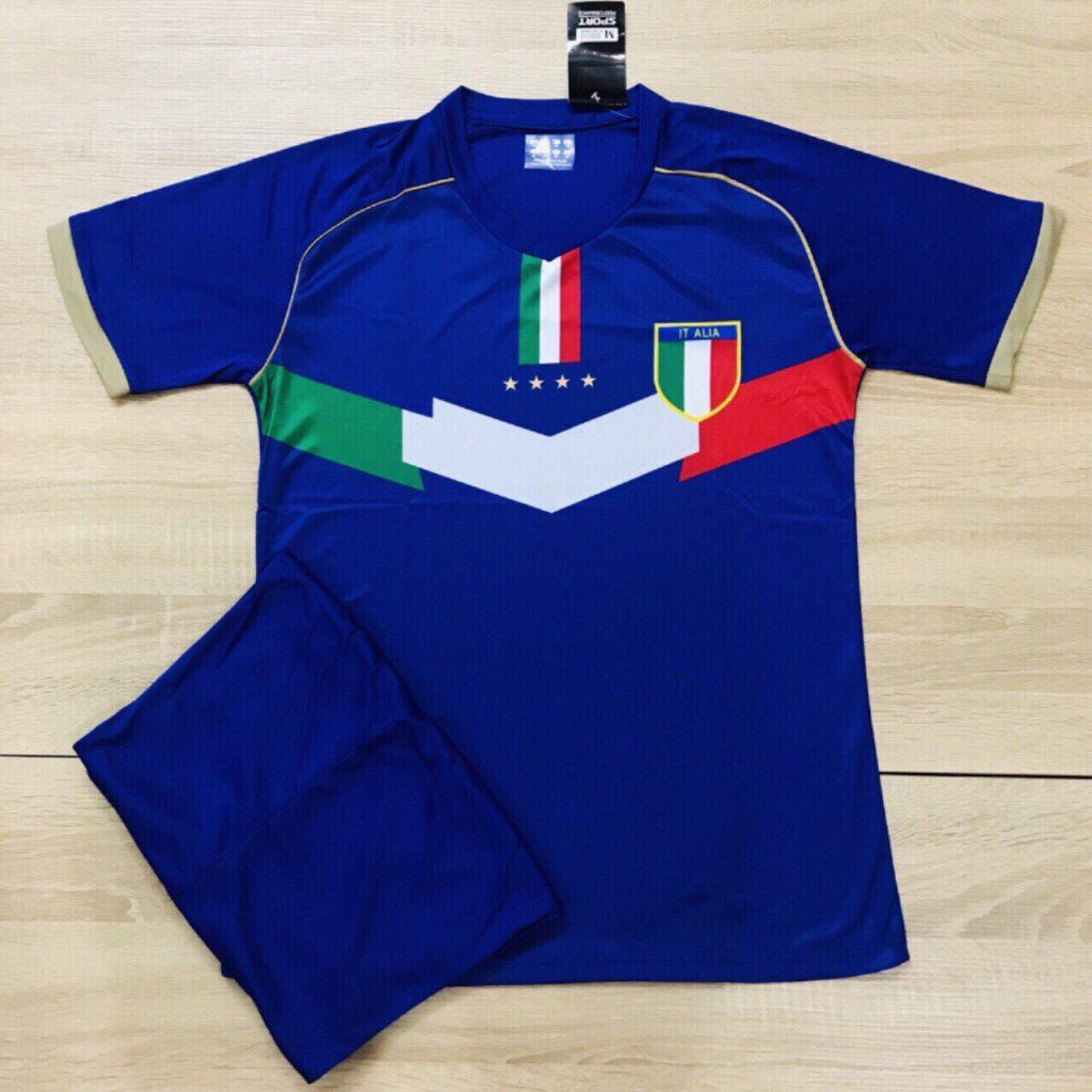 Áo bóng đá Italia màu xanh mùa giải 2019-2020