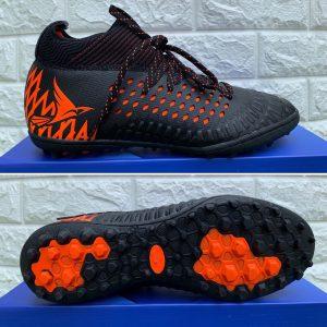 Giày bóng đá Mira Lux 19.2 chính hãng màu đen cam