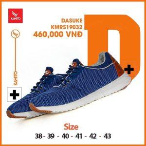 Giày chạy bộ Kamito Dasuke KMRS 19032 chính hãng màu xanh dương