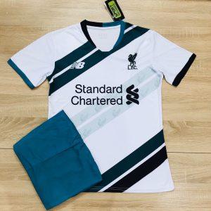 Áo bóng đá CLB Liverpool màu trắng mùa giải 2019-2020