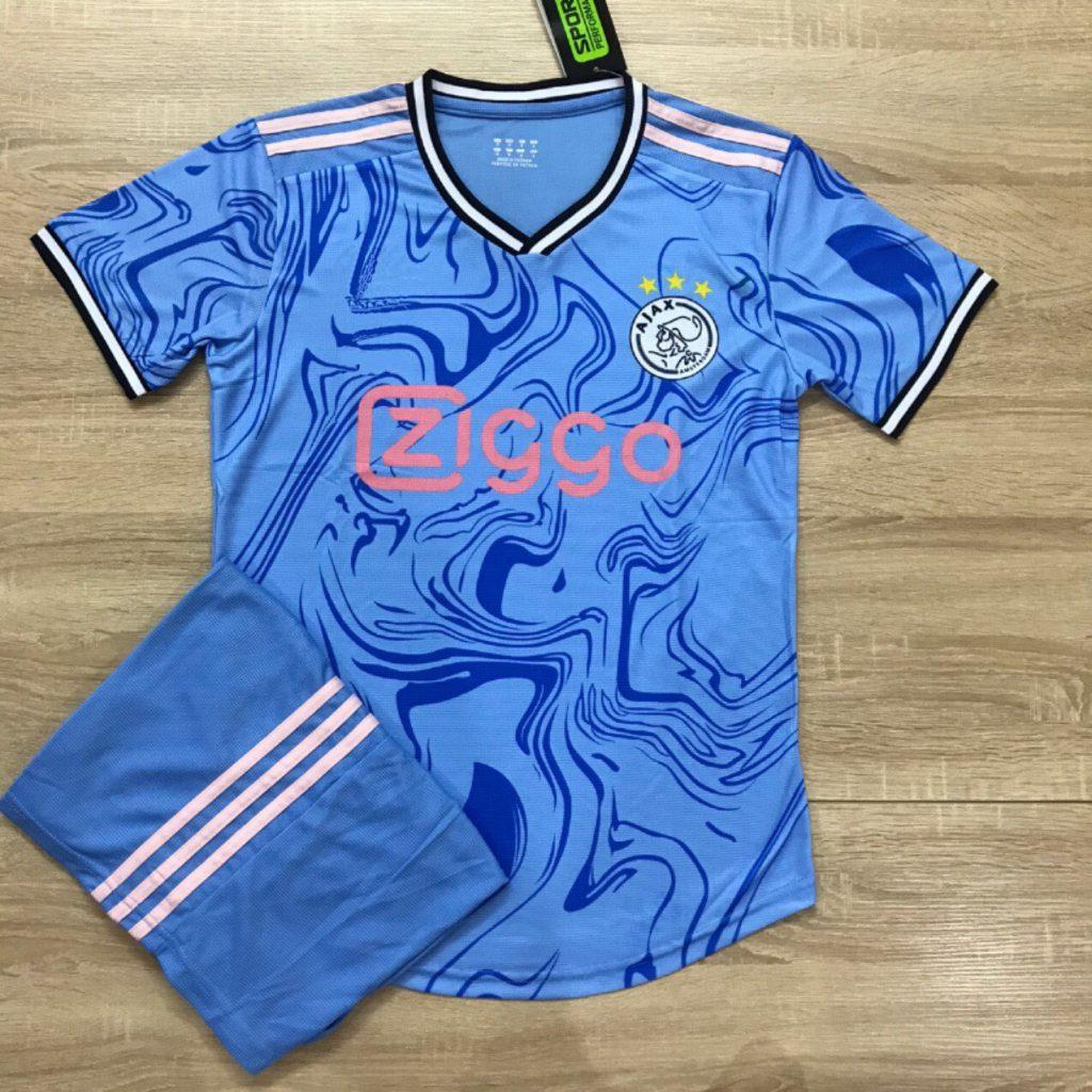 Áo bóng đá CLB Ajax màu xanh vằn mùa 2019-2020