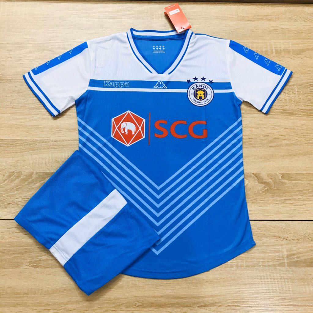 Áo bóng đá CLB Hà Nội màu xanh mùa 2019-2020