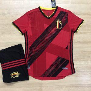 Áo bóng đá đội tuyển Bỉ màu đỏ mận mùa 2019-2020
