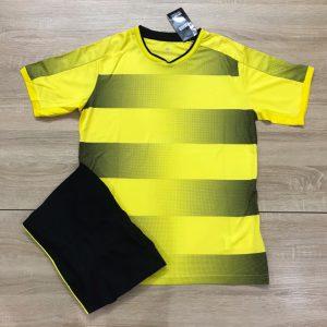Áo bóng đá không logo mô phỏng áo CLB màu vàng đen