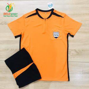 Áo trọng tài FIFA 2019 màu cam