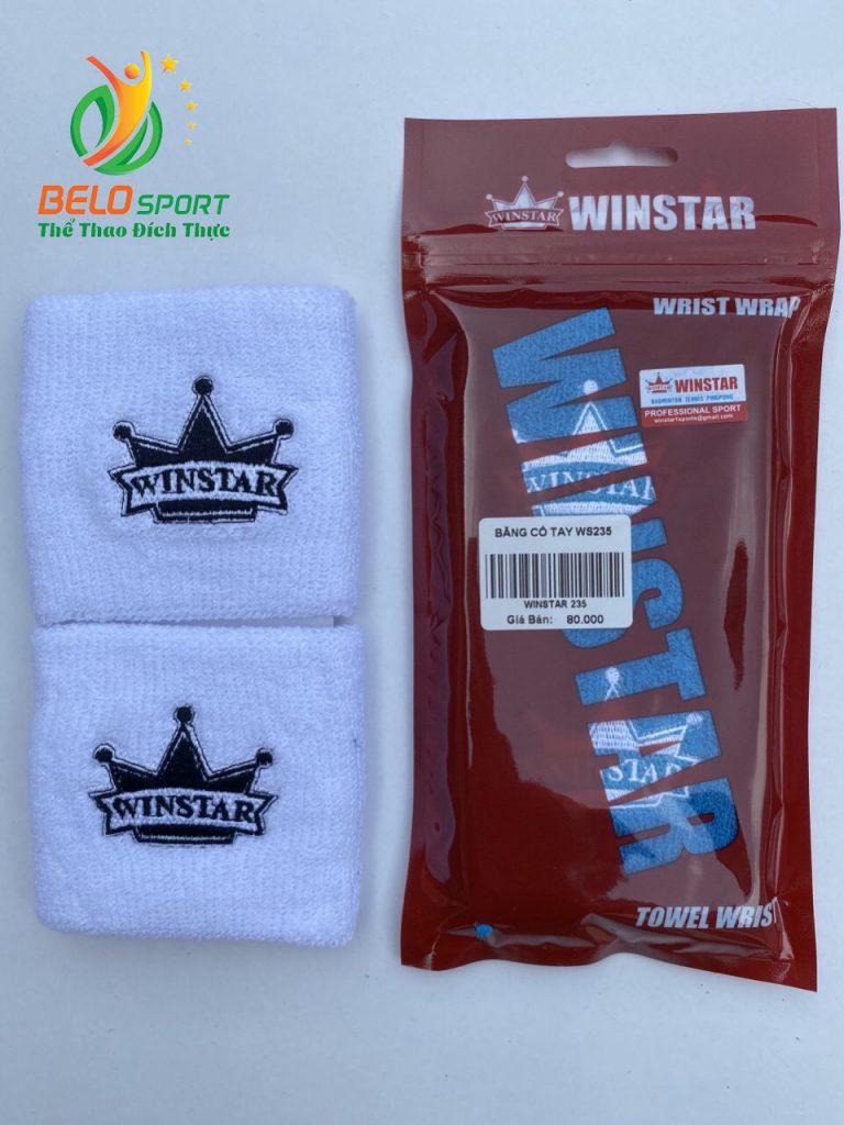 Băng cổ tay Winstar Ws235 màu trắng chính hãng