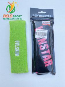 Băng đô thể thao, băng trán Winstar WS118 màu xanh lá chính hãng