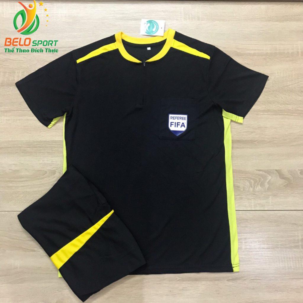 Áo trọng tài FIFA 2019 màu đen